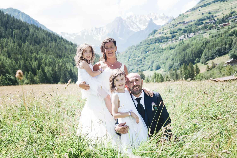fotografie famiglia Aosta